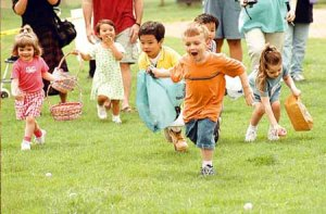Fun Outdoor Easter Game For Kids