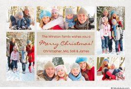 Christmas multi-photo card